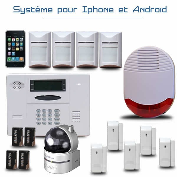 cam ra ip de vid osurveillance pour la maison les entreprises. Black Bedroom Furniture Sets. Home Design Ideas
